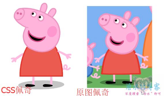 小猪佩奇CSS&Html
